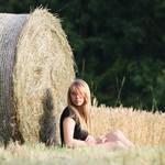 in a field by Rona-Keller