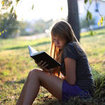 I'm staring at blank pages. by Rona-Keller