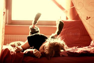 my sleeping pattern is a mess by Rona-Keller