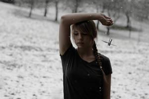 snow was covering my memories by Rona-Keller
