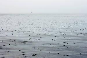 rain at Lake Constance by Rona-Keller