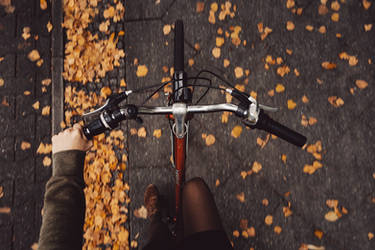 almost autumn in the city by Rona-Keller