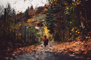 a little autumn moment by Rona-Keller