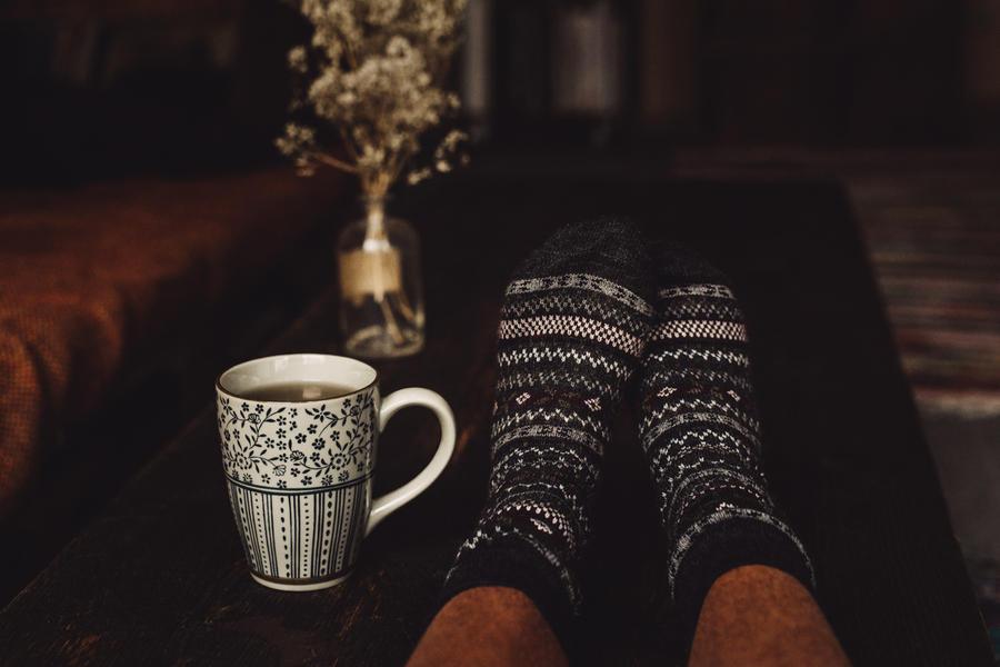 those lazy November days by Rona-Keller