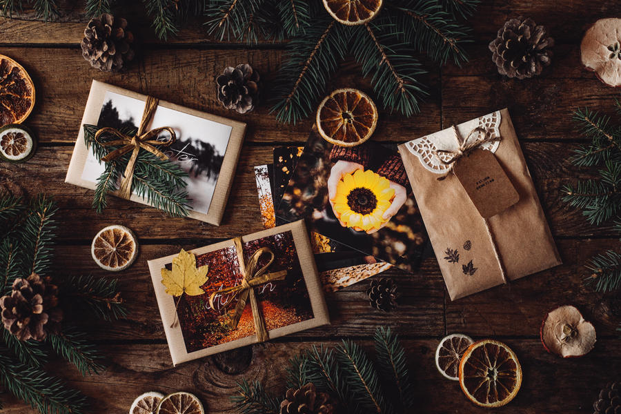 memories in packages by Rona-Keller