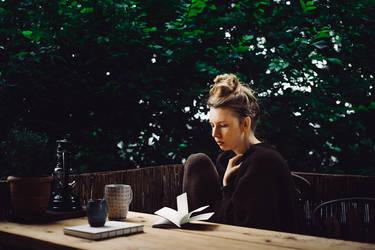 writing in the rain by Rona-Keller