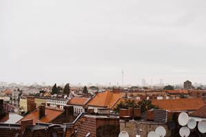 Berlin in the rain by Rona-Keller
