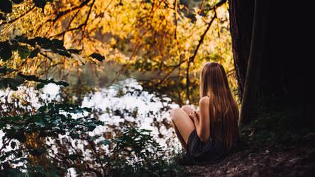 a picnic by the lake