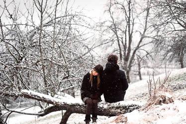 a mid winter walk by Rona-Keller