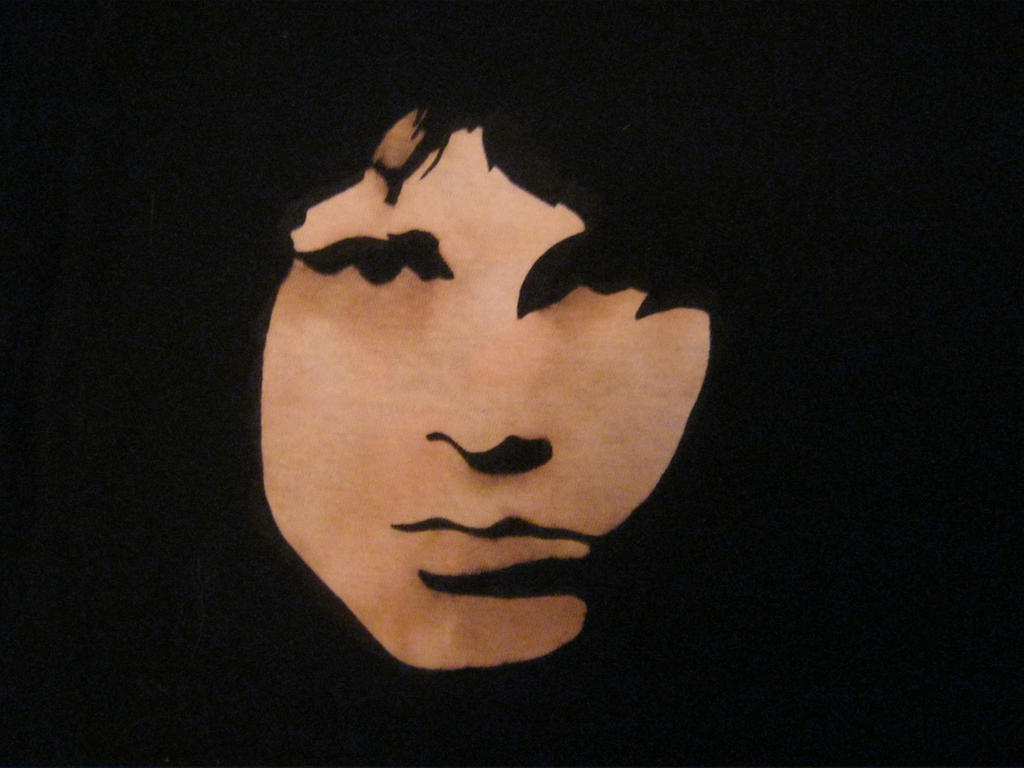 Jim Morrison T-shirt by Lysperka