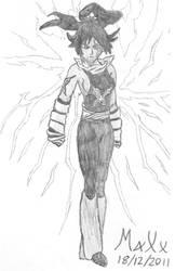 Flash Cry Yoruichi Shihoin by MaXx-Ownage