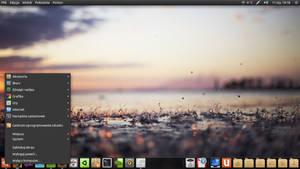 rainy desktop