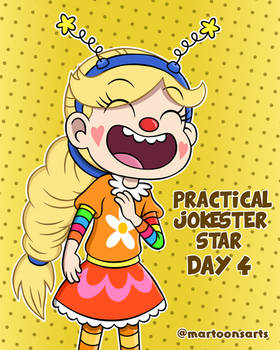 Loud Personality - Day 4: Practical Jokester Star