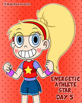 Loud Personality - Day 5: Energetic Athletic Star
