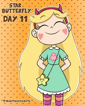 Loud Personality - Day 11: Star Butterfly (Normal)