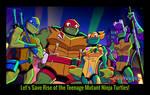 Save Rise of the Teenage Mutant Ninja Turtles!