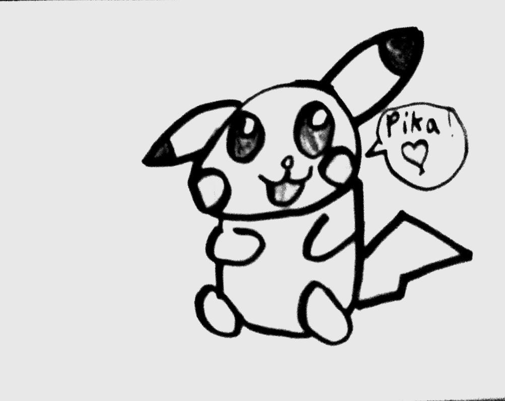 Chibi Pikachu Girl