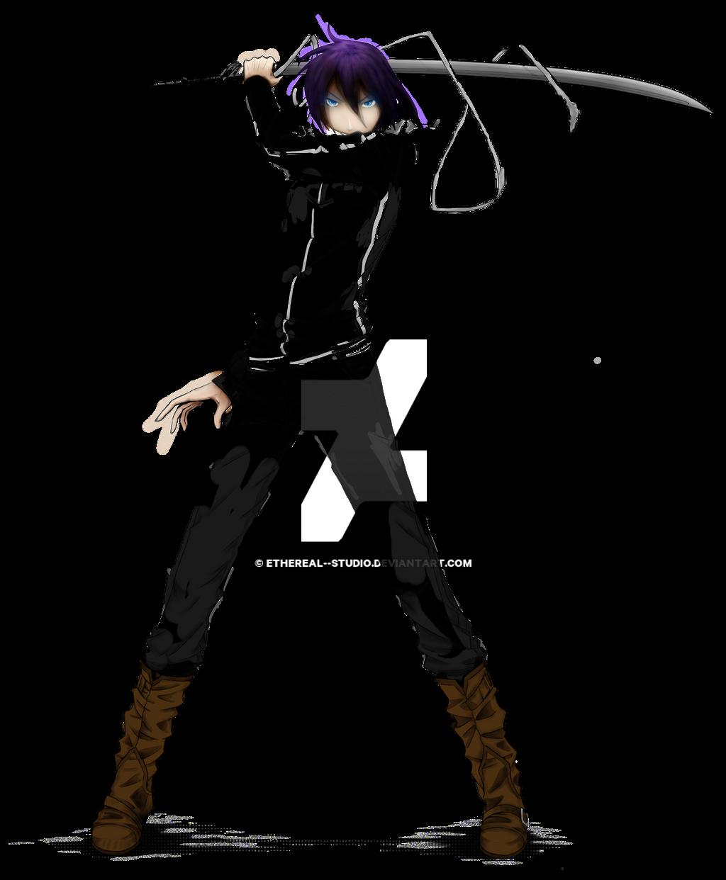 Yukine Render 1 By Shuryukan D72fjdv By Alicestone1 Myideasbedroom