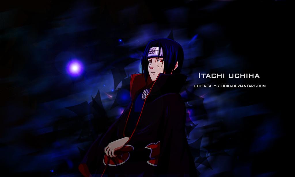 Itachi uchiha wallpaper by etherealstudio on DeviantArt