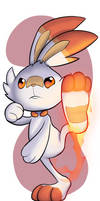 Scorbunny Drawing Number 549