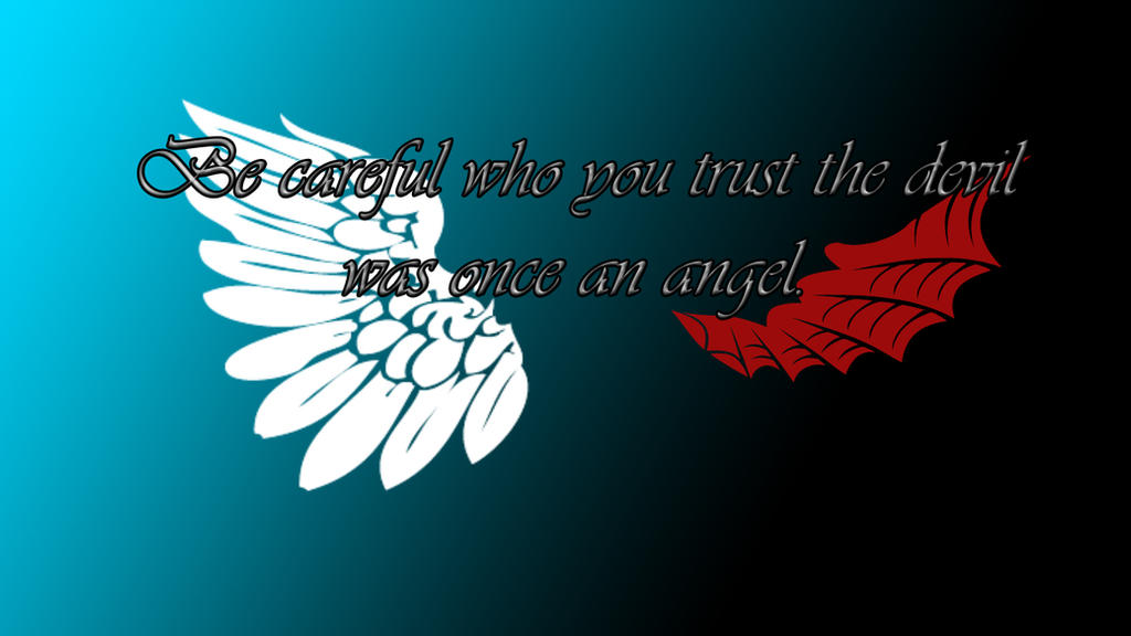 1devil and angel quotes - photo #2