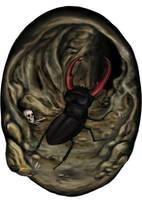 Der Riesenhirschkaefer by Neferu