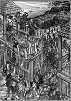 Dunkle Zeiten: Schlacht by Neferu