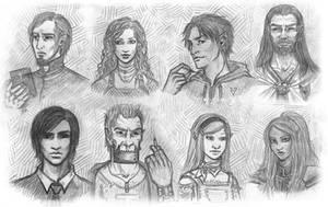 Faces by Neferu