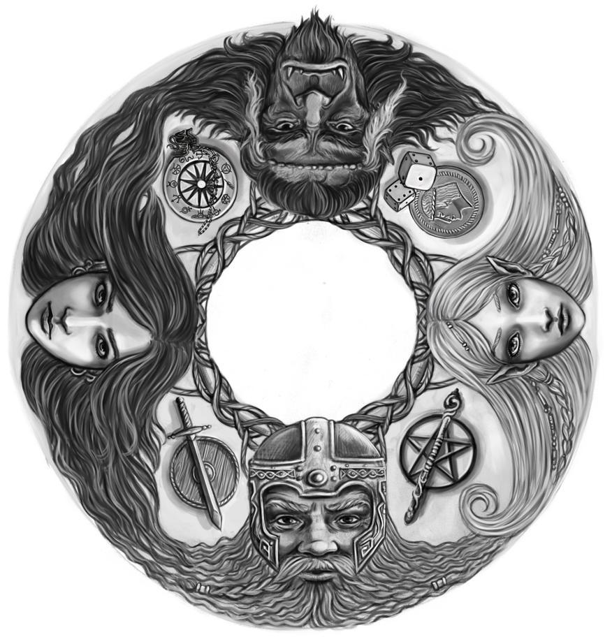 DSA-Circle by Neferu