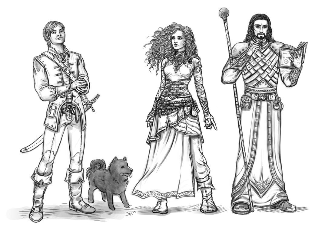 Heroes...? by Neferu