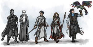 Characters of Aventuria