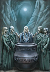 Alliance of elves (DSA) by Neferu