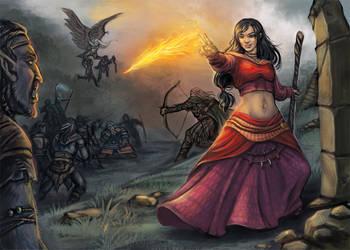 Final battle (DSA) by Neferu
