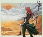 Inquisitor Lanyana Lavellan by Neferu