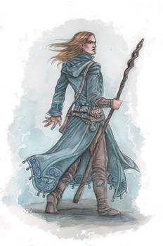 Cyruion, elven magician