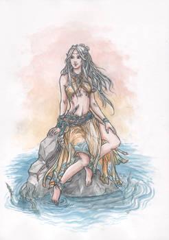 Lealou, the seaelf