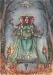 Lyriel the triple goddess