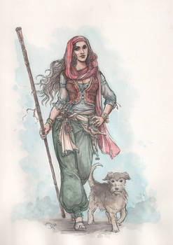 The witch Shanti from Aranien