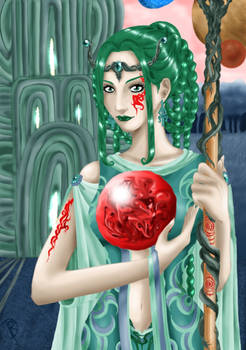 Goddess in Green