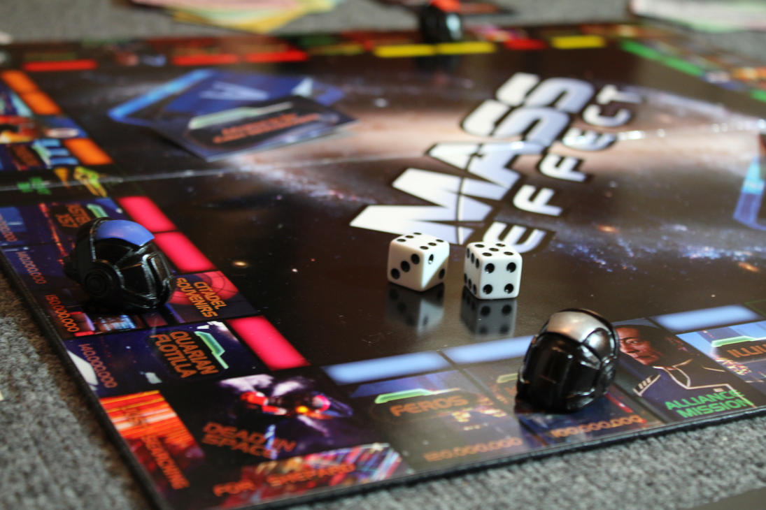 Mass Effect Monopoly by tommyfilth
