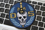 Danger 5 embroidered patch