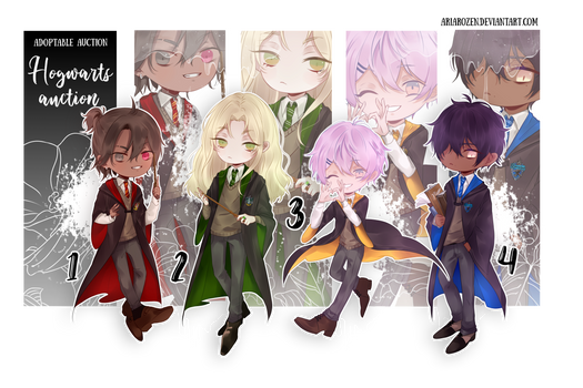!HOGWARTS AUCTION ADOPTS! (CLOSED)