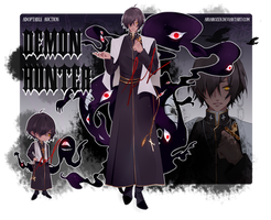 [ADOPTABLE] Demon hunter (CLOSE)