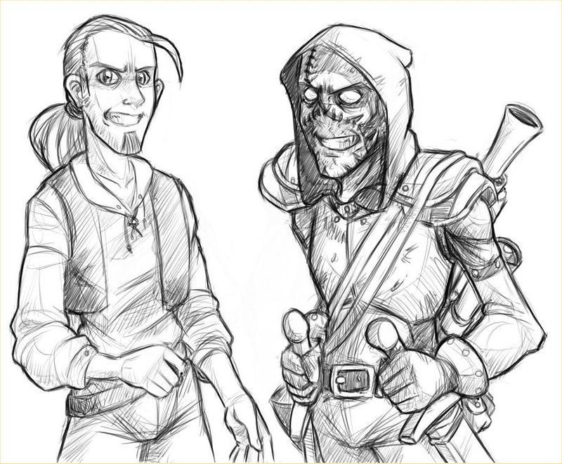DC Character Sketch by DarkCloak on DeviantArt