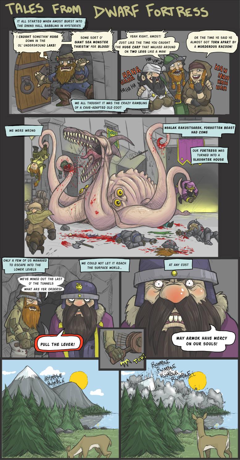Tales from Dwarf Fortress by DarkCloak