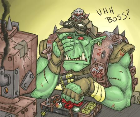 Uhh Boss? by DarkCloak