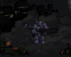 Tau Combat Sweep by DarkCloak