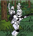 Storm troopers on patrol