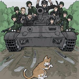 'Panzer Halten'