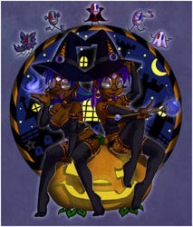 The Witching Hour by CaramelKitt